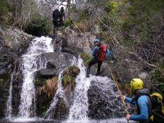 Aktieve korte trip canyoning  met QNPportugal